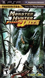 PSP Monster Hunter Freedom Unite