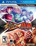 PS Vita Street Fighter X Tekken