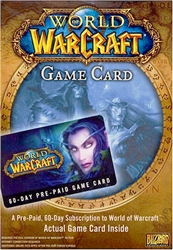 PC World of Warcraft 60 Day Pre-Paid Time Card