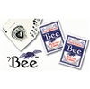 2 Blue Decks of BEE Playing Cards
