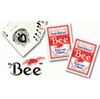 2 Red Decks of BEE Playing Cards