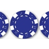 "50 piece Blue ""Dice"" Poker Chips"