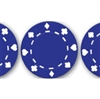"50 piece Blue ""Suited"" Poker Chips"