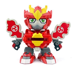 Battle Disc Warrior Blaze Action Figure