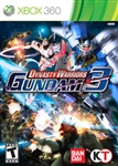 Xbox 360 Dynasty Warriors Gundam 3