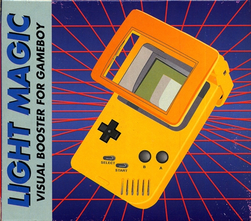 Light Magic Visual Booster For Gameboy Yellow