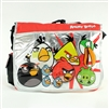 Angry  Birds Attack Silver Messenger Bag