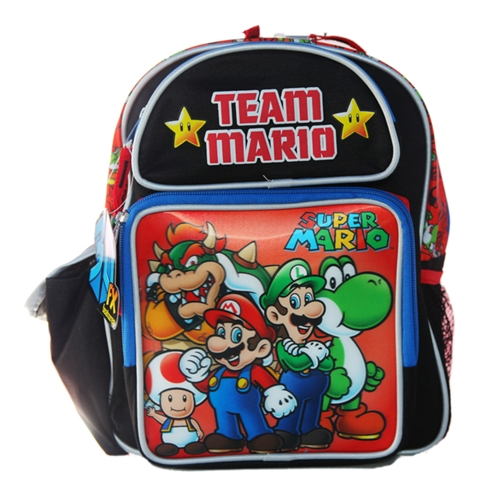 Super Mario Team Mario Small Backpack Bag