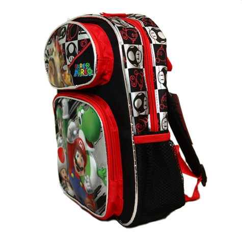 Super Mario And Friends Small Backpack Bag