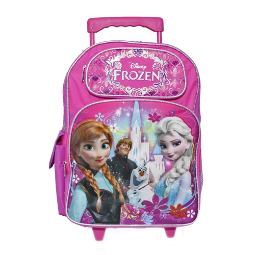disney 39 s frozen roller backpack bag ana elsa olaf and. Black Bedroom Furniture Sets. Home Design Ideas