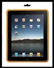 Orange Silicone Protective Case for iPad