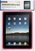 Pink Silicone Protective Case for iPad