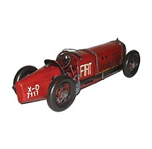 Red Fiat Race Car of the 1920's